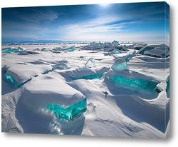 Постер Байкальские сокровища: Сапфир и Изумруды