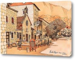 Картина Улица в Которе. Черногория