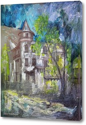 Картина Прогулки по Мансуровскому