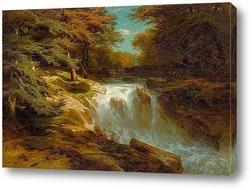 Картина Водопад. 1847