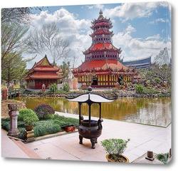 Постер Восточный сад
