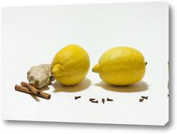 Лимоны и гвоздика