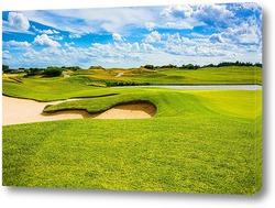 Постер Поле для гольфа