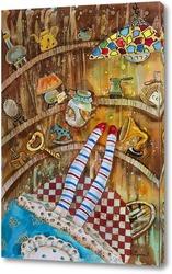 Постер Полёт Алисы
