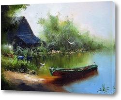 Картина Чайкин берег