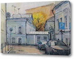 Москва двухэтажная (Кадашевский переулок)