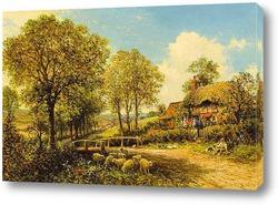 Весна Коттедж с Пастухом