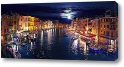 Постер Ночная Венеция