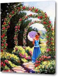 Постер Аллея роз