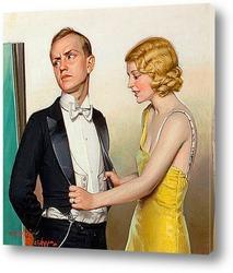 Кольер, обложка журнала, 8 ноября 1924