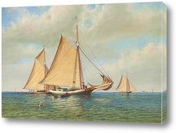 На берегу Коннектикут, 1869