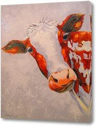 Постер Корова