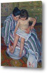 Картина Купание ребенка
