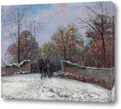 Осенний пейзаж рядом с Понтуаз