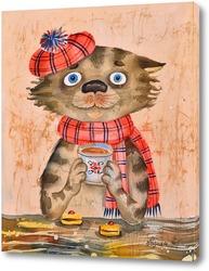 Картина Чай с печеньем