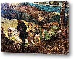 Картина Возвращение стада (фрагмент)