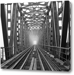 Постер Железнодорожный мост