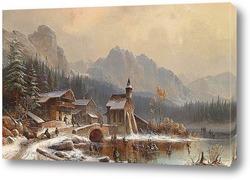 Постер Зимние забавы