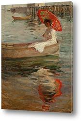 На берегу моря, 1892