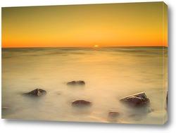 Постер Закат на Балтийском море