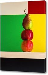 Постер Яблоки и груша