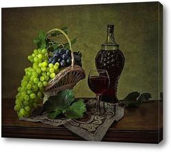 Постер Про виноград и вино