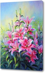 Картина Розовые лилии