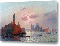 Постер Большой канал, Венеция