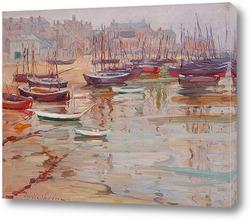Небольшая гавань, Конкарне, Бретань, 1926