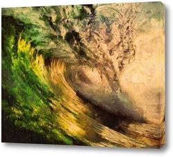 Постер Волна на закате