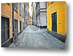 old streets of Spain - artistic picture