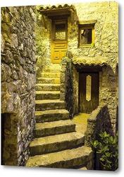 Улочки Пейона часто состоят из лестниц...