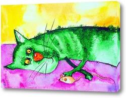 Картина Ленивый кот