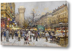 Постер Париж Сен-Дени