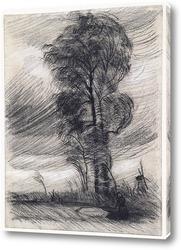 Картина Пейзаж в штормовую погоду