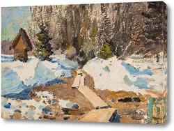 Картина Путь сквозь снег