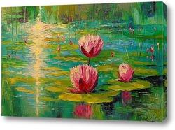 Картина Пруд и лилии