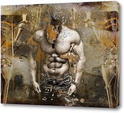 Картина Чемпион бодибилдинга