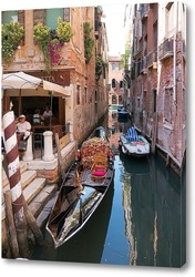 Постер Каналами Венеции