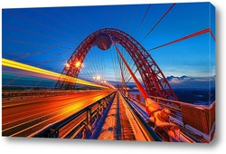 Постер Живописный мост