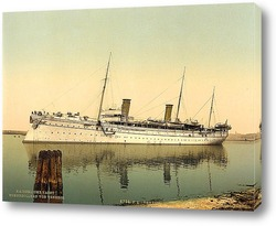 Постер Гогенцоллерн, оставляя гавань, Венеция, Италия