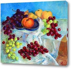 """Картина Натюрморт """"Виноград с фруктами"""""""