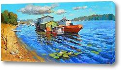 Картина На реке