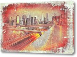 Постер Нижний Манхэттен