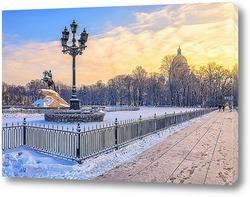 Постер Санкт-Петербург. На Сенатской площади.