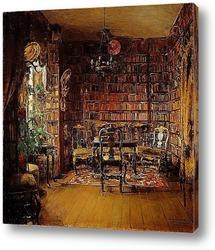 Картина Библиотека Турвалда Боек