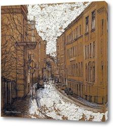 Картина Мерзляковский переулок