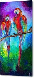 Картина Попугаи Ара
