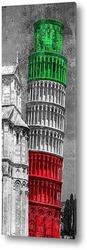 Постер Пизанская башня