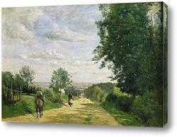 Картина Дорога в Севр